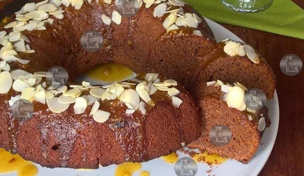 Κέικ σοκολάτας  ΜΕ ΣΤΕΒΙΑ, από την Ελευθερία Μπούτζα και το «Μαγειρεύοντας με την L»!