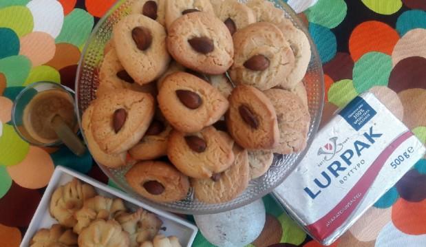 Μπισκότα βουτύρου με αμύγδαλο, από την Ιωάννα Σταμούλου και το sweetly!