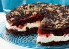 Τούρτα σοκολάτας µε κρέµα και φράουλες, από την Αργυρώ μας!