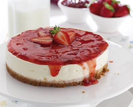 Υπέροχο cheesecake  για τους διαβητικούς μας φίλους, με Linodiet Baking Stevia, από το linodiet.gr!