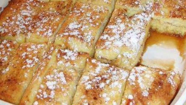 Υπέροχο και υγιεινό πρωϊνό με ψωμί του τόστ στο φούρνο, από το sintayes.gr!