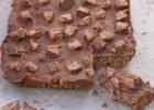 Τραγανό γλυκό ψυγείου με σοκολάτα Mars με 4 υλικά, από το sintayes.gr!