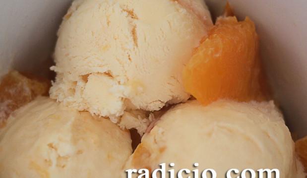 Παγωτό πορτοκάλι (χωρίς παγωτομηχανή), από την Luise και το radicio.com!