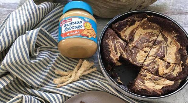Σοκολατένιο μπισκότο γίγας με φυστικοβούτυρο, από την Μυρσίνη Λαμπράκη και το mirsini.gr!