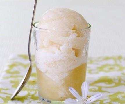 Σορμπέ αχλάδι με stevia, από τον Δημήτρη Χρονόπουλο και το olivemagazine.gr!