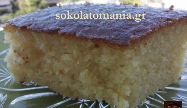 Το πιο εύκολο ραβανί με γιαούρτι και ινδοκάρυδο, από το sokolatomania.gr!
