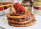 Super υγιεινά pancakes βρώμης με ταχίνι, από το Dutchesss Daily!