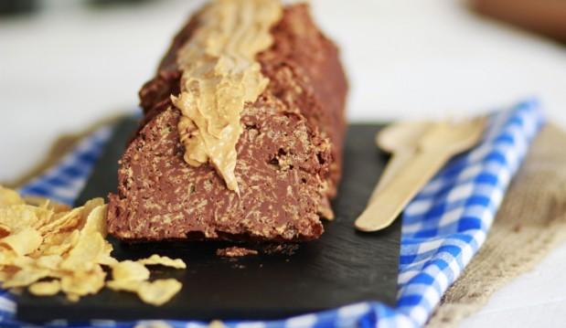 Σοκολατένιος κορμός μόνο ΜΕ 3 ΥΛΙΚΑ, από τον Γαβριήλ Νικολαϊδη και τον Coolartisan!