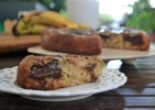 Ανάποδο κέικ μπανάνα σοκολάτα, από την Ιωάννα Σταμούλου και το sweetly!