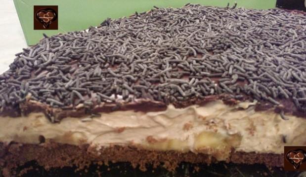 Aπίθανη, εύκολη τούρτα Banoffee από το sokolatomania.gr!