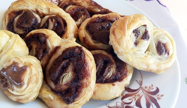 Palmiers με Nucrema ION μόνο ΜΕ 2 ΥΛΙΚΑ, από την Αριάδνη Πούλιου και το ionsweets.gr!