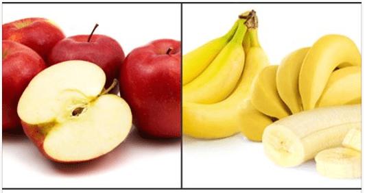 «Μπανάνα ή μήλο;», από το Διαιτολογικό Γραφείο Θαλή Παναγιώτου!