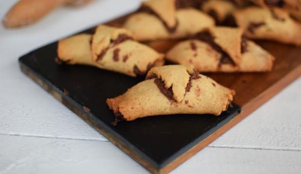 Μπισκότα πραλίνας σαν κρουασάν , από τον Γαβριήλ  Νικολαϊδη και τον Cool Artisan!
