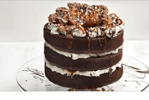 Τούρτα σοκολάτα καραμέλα-Chocolate caramel cake, by Akis and akispetretzikis.com!