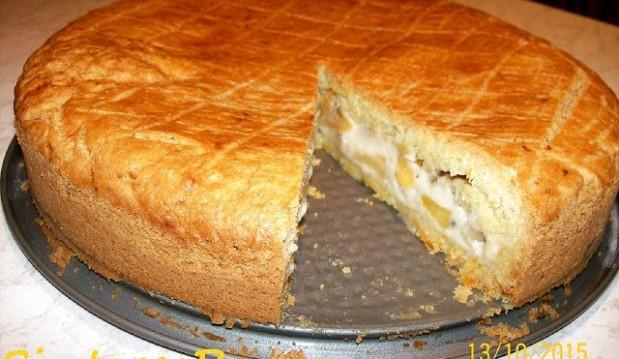 Μηλόπιτα με κρέμα σοκολάτας, από τον Παναγιώτη Θεοδωρίτση και το sintagespanos!