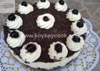 Υπέροχο Cheesecake Black Forest, από την αγαπημένη μας Ρένα Κώστογλου και το koykoycook.gr!
