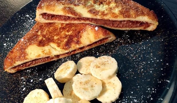 French toast με Nucrema ΙΟΝ και μπανάνα, από την Αριάδνη Πούλιου και το ionsweets.gr!