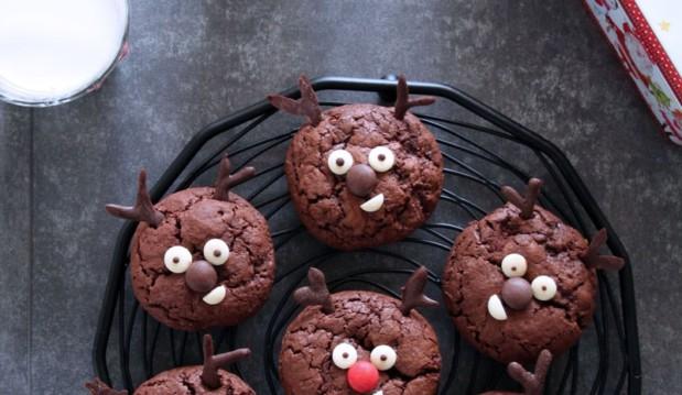 Σοκολατένια μπισκότα τάρανδοι, από την Ερμιόνη Τυλιπάκη και το «The one with all the tastes»!