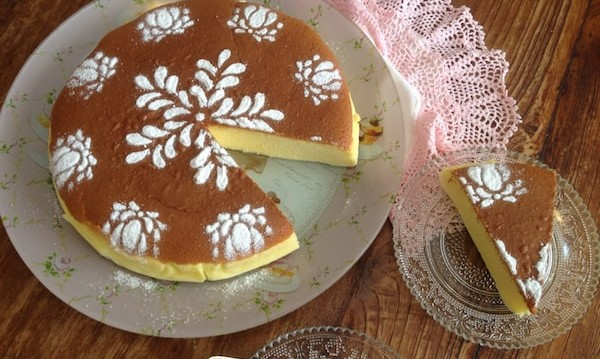 Japanese cheese cake, από την Μπέττυ μας και το «Taste of life by Betty»!