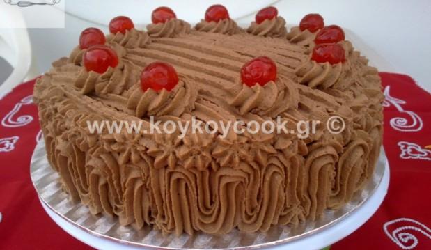 Υπέροχη τούρτα Σεράνο, από την Ρένα Κώστογλου και το koykoycook.gr!