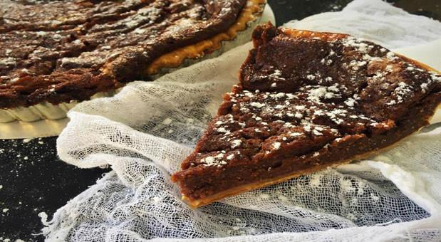 Σοκολατένια γαλατόπιτα με φύλλο κρούστας, από την Μυρσίνη Λαμπράκη και το mirsini.gr!