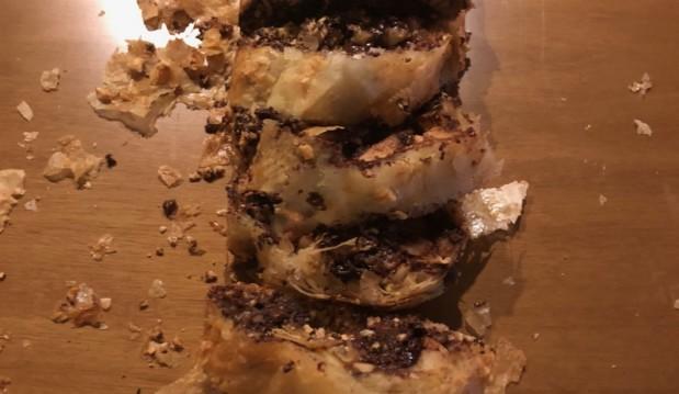 Στρούντελ σοκολάτας, από τον Πέτρο Συρίγο και το petros-syrigos.com!