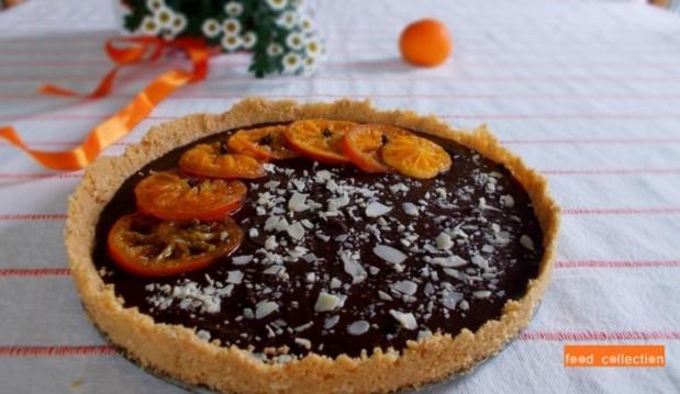 Τάρτα σοκολάτας με μαρμελάδα μανταρίνι, από την Δήμητρα Χερουβείμ και το gourmed.gr!