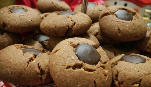 Σοκολασμένα vegan-νηστίσιμα μπισκοτάκια, από το Όλα Νηστίσιμα!