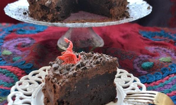 Κέικ σοκολάτας με ούζο to die for, από την Ιωάννα Σταμούλου και το sweetly!