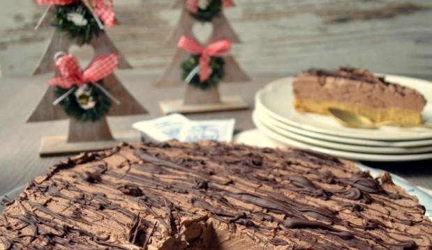 Υπέροχο νηστίσιμο cheesecake σοκολάτα-καρύδα με La Mia Stevia- Vegan chocolate coconut cheesecake with La Mia Stevia,  by Lenia and the veggiesisters.gr!