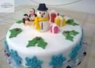 Γιορτινή τούρτα χιονάνθρωπος, από την αγαπημένη Ρένα Κώστογλου και το koykoycook.gr!