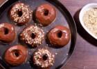 Αφράτα ντόνατς στο φούρνο με γλάσο νουτέλας (Video), από το sintayes.gr!
