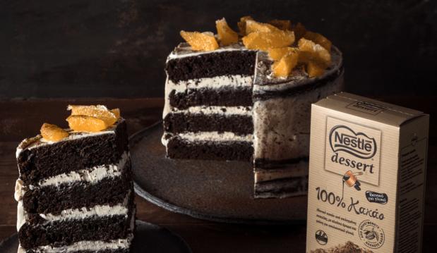 Τούρτα καρύδας σοκολάτας χωρίς γλουτένη από τον Άκη Πετρετζίκη και την Nestle Dessert!