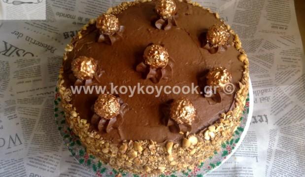 Τούρτα Ferrero Rocher, από την αγαπημένη μας Ρένα Κώστογλου και το koykoycook.gr!
