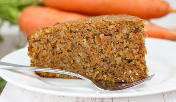 Νηστίσιμο και υγιεινό κέικ καρότου  με PYURE STEVIA!