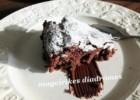 Νηστίσιμη σοκολατόπιτα με ταχίνι, από την Ηλιάννα και  τις Μαγειρικές Διαδρομές!