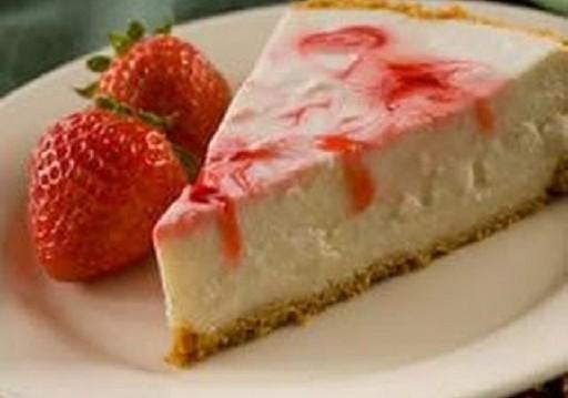 Cheesecake Φράουλας με pyure stevia και μπισκότα ολικής με προβιοτικά και αλάτι χωρίς νάτριο, από την naturalbuys.gr!