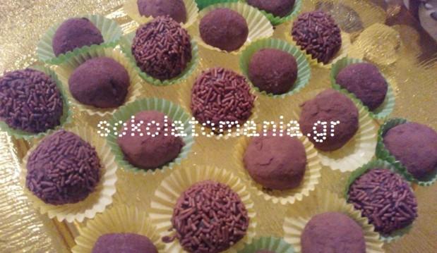 Πανεύκολα, υπέροχα τρουφάκια NOVELLO, μόνο με 3 ΥΛΙΚΑ από το sokolatomania.gr!!