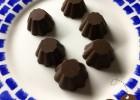 Νηστίσιμα σοκολατάκια με ζάχαρη καρύδας ΜΟΝΟ ΜΕ 3 ΥΛΙΚΑ, από την Ελσα Μαυρίδου και το  dairy-free.eu!