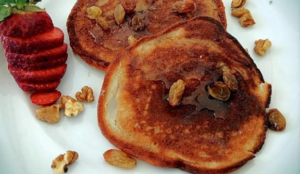 Νηστίσιμα Pancakes μπανάνας, από την Λίτσα Ζαρίφη και το dairy-free!