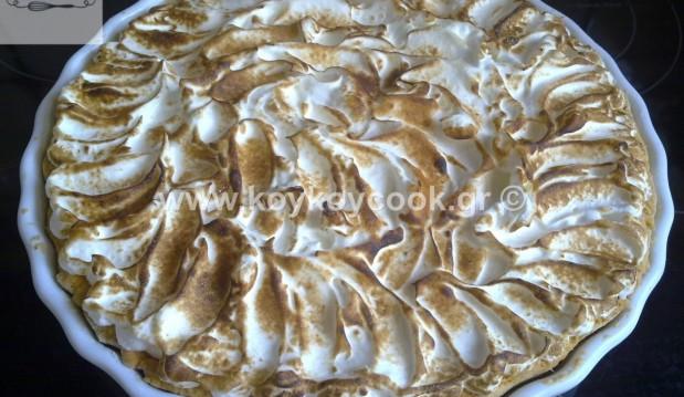 Τάρτα lemon pie, από την αγαπημένη μας Ρένα Κώστογλου και το Koykoycook.gr!