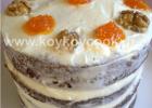 Κέικ (τούρτα)καρότου με frosting κρέμας τυριού, από την αγαπημένη Ρένα Κώστογλου και το koykoycook.gr!