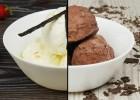 Πανεύκολο παγωτό βανίλια-σοκολάτα με 3 υλικά χωρίς παγωτομηχανή (VIDEO), από τους Χάρη και Μιχάλη Καρελάνη και το redmoon-foodaholics.gr!