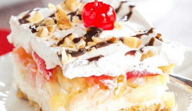 Ανάλαφρο γλυκό ψυγείου με φρέσκα φρούτα, από το sintayes.gr!
