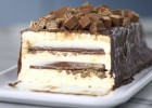 Κορμός παγωτό με Kit Kat, από το sintayes.gr!