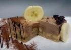Μους με κουβερτούρα γάλακτος ΙΟΝ, Dulce de leche, μπανάνες και τριμμένο μπισκότο, από τον Μιχάλη Σαράβα και το ionsweets.gr!