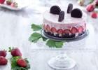 Cheese cake με oreo και φράουλες (VIDEO), από την Μυρσίνη Λαμπράκη και το mirsini.gr!