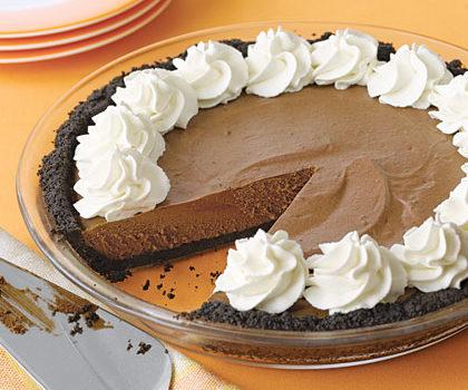 Σοκολατόπιτα η μεταξένια, χωρίς ψήσιμο, από το sintayes.gr!