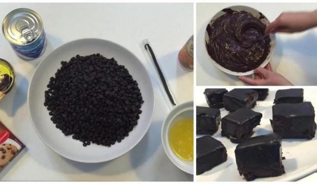 Σοκολατόπιτα σε μπουκίτσες ΧΩΡΙΣ ΨΗΣΙΜΟ μόλις σε 10′ (VIDEO), από το votanonkipos.gr!