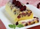 Παγωμένος κορμός semifreddo με κεράσια, από το sintayes.gr!